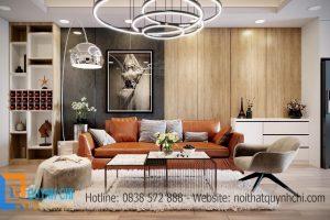 Thiết kế căn hộ 411 – Chung cư Hoàng Cầu Skyline