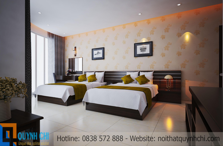 Thiết kế thi công khách sạn Nga Việt