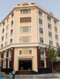 Thiết kế thi công khách sạn Việt Tiệp