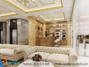 Thiết kế thi công nội thất nhà hàng Khương Cúc
