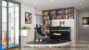 Tư vấn thiết kế nội thất chung cư cho người mệnh Thủy rước tài lộc vào nhà